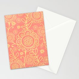 Floral Fantasy 9a Stationery Cards