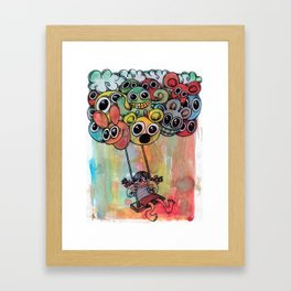 baloon Framed Art Print