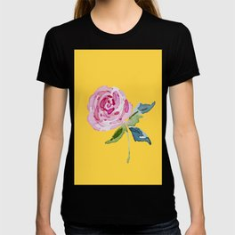 Watercolor Rose T-shirt