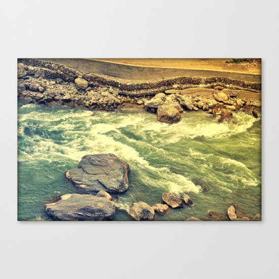 Another day gone! Canvas Print
