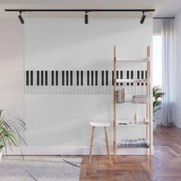 Piano / Keyboard Keys Wall Mural