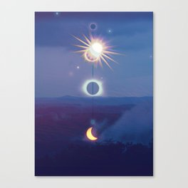 Wilderness Eclipse Canvas Print