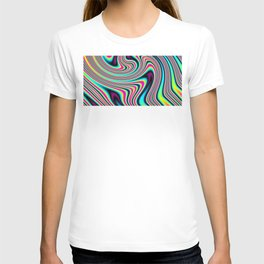 Colorful stripes T-shirt