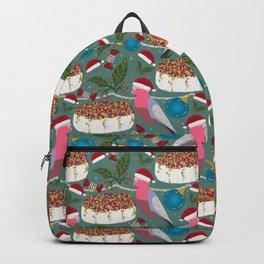 Christmas Australian Gallah Parrot Backpack