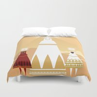 journey Duvet Covers featuring Journey by OhhhKayeEndo
