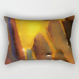 My New ABNORMAL: An Abstract Painting Rectangular Pillow