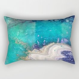 Glass Spill Rectangular Pillow