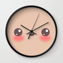 Kawaii Cafe au Lait Wall Clock