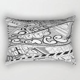 Call Out to God Rectangular Pillow