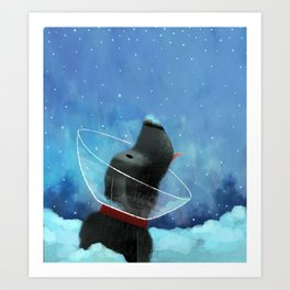 Snow Cone Art Print
