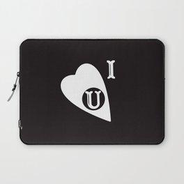 Ouija Love - Blacck Laptop Sleeve