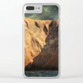Siren Rocks Clear iPhone Case