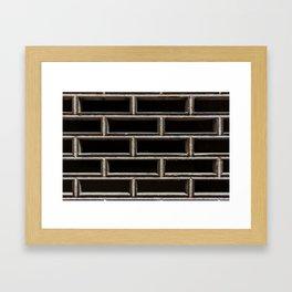 The Grille Framed Art Print