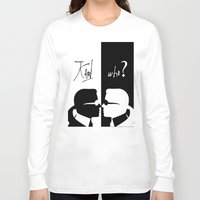 karl Long Sleeve T-shirts featuring karl who by RadFads