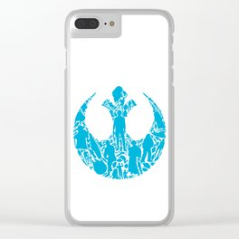 Rebel Scum Clear iPhone Case