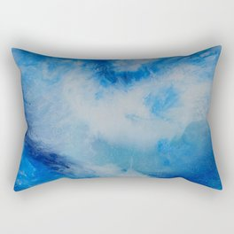 And the Heavens Opened up for Michael Rectangular Pillow