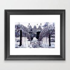 Barnsley House In Winter Framed Art Print