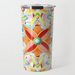Suzani Auspicious Waves Travel Mug