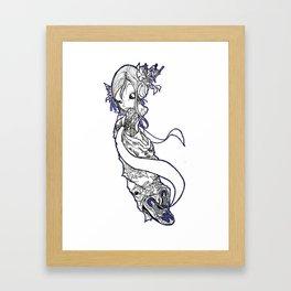 dammmnnn!!!! Framed Art Print