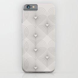 Heart Shape Pattern #society6 #decor #buyart iPhone Case