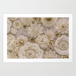 Paper Bouquet Art Print