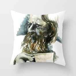 FACE#19 Throw Pillow