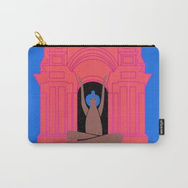 moon goddess illustration Carry-All Pouch