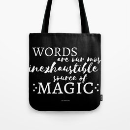 Words of Wisdom from a Dumb Elder (Black) Tote Bag