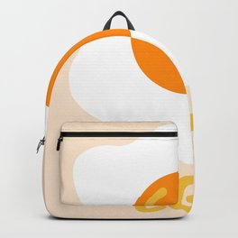 Egg orange Backpack