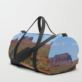 Traveling On Highway 163 Duffle Bag