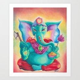 Ganesha AKA Ganesh  Art Print