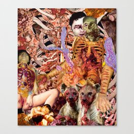Most Unclean 2018 Canvas Print