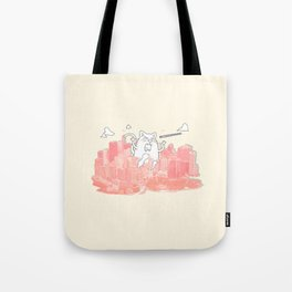 Monster Cat Tote Bag