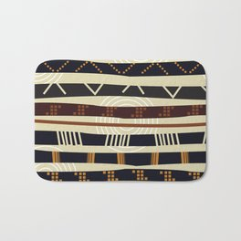 African Tribal Pattern No. 35 Bath Mat