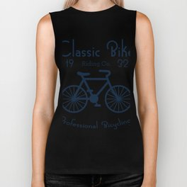 Classic Bike Riding Professional Bicycling Club Cyclist Biker Tank