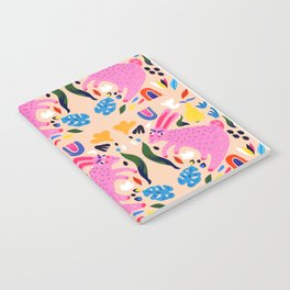 Pink Bunny Notebook