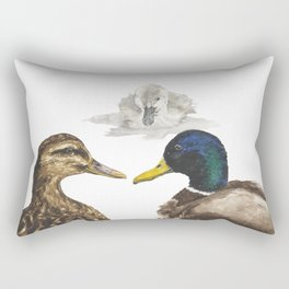 The Ugly Duckling Rectangular Pillow