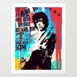 Rolling Stones pop art style Kunstdrucke
