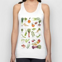 calendar Tank Tops featuring Calendar-January thru June by Brooke Weeber