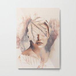 Autumn (portrait) Metal Print