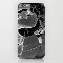Metamorphosis Invert #1 Abstract Art Line iPhone Case