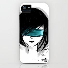 close my eyes iPhone Case