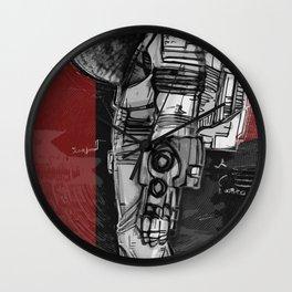 Dieter Rams In Space Wall Clock