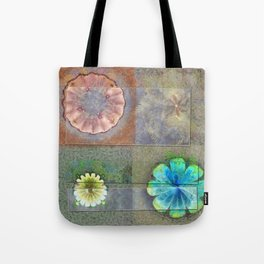 Fast Actuality Flower  ID:16165-084338-75791 Tote Bag