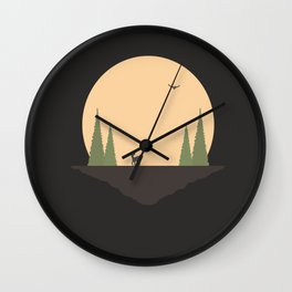 A Long Way From Home, Little One Wall Clock