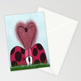 Ladybugs First Encounter Stationery Cards