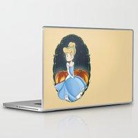 cinderella Laptop & iPad Skins featuring Cinderella by Adele Manuti