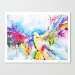 Hope For Gabbi Canvas Print