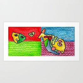 "#Mymalta ""Archipelago"" Art Print"