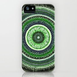 Living Forest Mandala iPhone Case